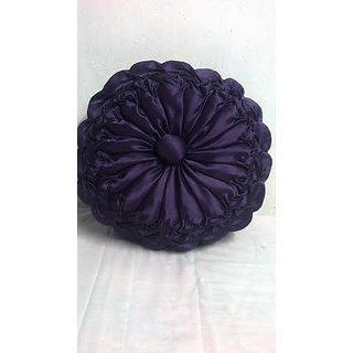 Flower Style Square Pillow Cover