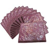 Bankey Bihari Calcutta Collection Single Saree Cover Set Of 12 Pcs