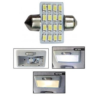 Car Auto Dome Roof Light 16 SMD 31mm Festoon Connector