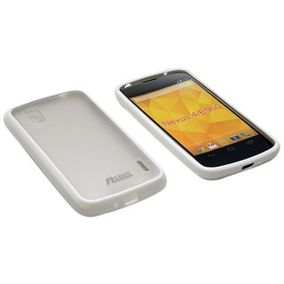 ncase PFBC-8103WH Back Cover for LG E960 Nexus 4 (WHITE)