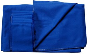 Pool table cloth 4' x 8' (Blue)