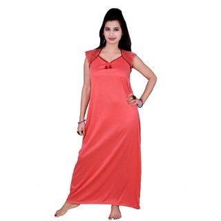 Kismat Fashion Cotton Long Nighty Kn17