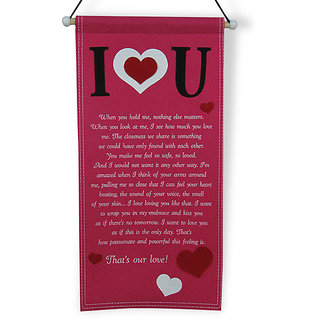buy i love you quotation scroll online get 0 off