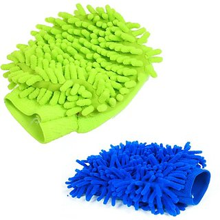 Nimarketing CCL52 Microfibre Vehicle Washing Cloth (Multicolor)