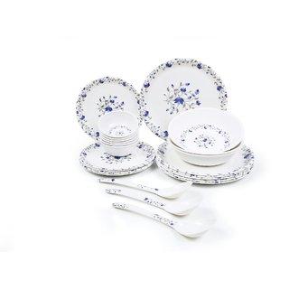 CZAR 24 PIC NEW DINNER SET-BLUE PRINT 1009