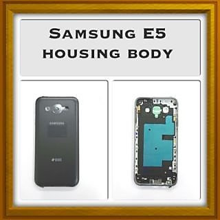 100 original New Full Housing Body Panel - For Samsung Galaxy E5 - Black Color