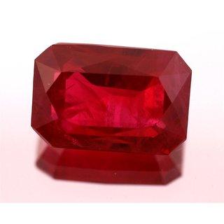 JAIPUR GEMSTONE 7.25 RATTI Ruby(SUGGESTED) Red