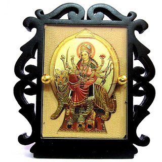 Takecare Hindu God Idol Mata Ji Temple For Car Dashboard For Fiat Punto Evo