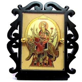 Takecare Hindu God Idol Mata Ji Temple For Car Dashboard For Volkswagen Vento 2014-2015
