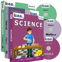 Class 6-Mathematics, EVS  Maths Activity Combo CDs-IDaa
