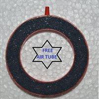 Aquarium 8cm air stone ring water oxygen bubble free gift inside