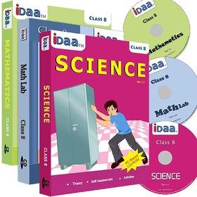 Class 8-Mathematics, EVS  Maths Activity Combo CDs-IDaa