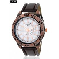 DCH WT 1213 Brown Color Analog Watch For Men With 1 Year Warranty(WT 1213)