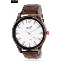 DCH WT 1209 Brown Color Analog Watch For Men With 1 year Warranty(WT 1209)