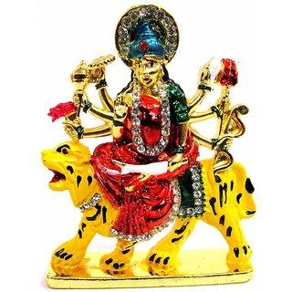 Takecare Hindu God Idol Mata Ji Temple For Car Dashboard For Nissan Sunny