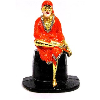 TAKECARE God Idol Of Shri Sai Baba FOR BMW 5 SERIES