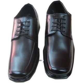 Darshi Footwear Casual Wear Leather Men Black Shoes