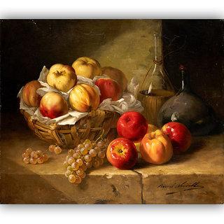 Vitalwalls Still Life Painting Canvas Art Print.Static-216-60 cm