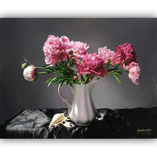 Vitalwalls Still Life Painting Canvas Art Print.Static-217-45 cm