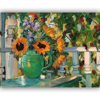 Vitalwalls Still Life Painting Canvas Art Print.Static-224-60cm