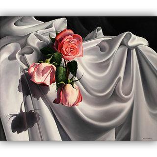 Vitalwalls Still Life Painting  Canvas Art Print,Wooden Frame.Static-397-F-45cm