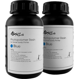 Photopolymer Resin for 3D Printing- Blue (Pack of 2)