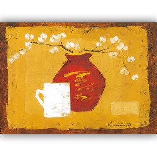 Vitalwalls Still Life Painting  Canvas Art Print,Wooden Frame.Static-435-F-45cm