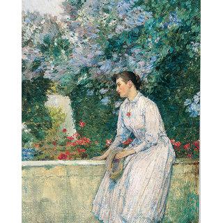 Vitalwalls Portrait Painting Canvas Art Print.Western-180-30cm