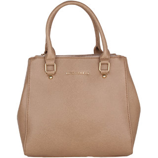 Lino Perros Beige Coloured Hand Bag. LWHB01836BEIGE