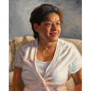 Vitalwalls Portrait Painting Canvas Art Print,on Wooden FrameWestern-278-F-60cm