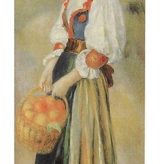 Vitalwalls Portrait Painting Canvas Art Print.Western-253-60cm