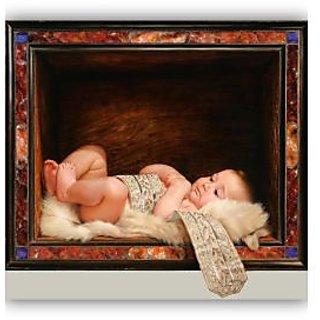Vitalwalls Portrait Painting Canvas Art Print,on Wooden FrameWestern-288-F-30cm