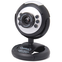 Quantum PC Web Cam 25 MP USB 6 LED Lights Night Vision