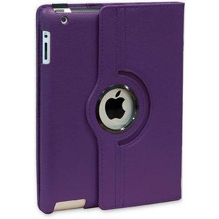 Callmate Rotation Case For iPad Mini4 - Purple