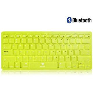 Callmate Bluetooth Keyboard with B.T USB Dongle - Green