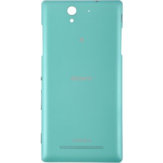 Buy new sony xperia c3 back battery panel mint color online new sony xperia c3 back battery panel mint color reheart Images