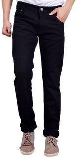 Studio Nexx Black Mens Regular fit jeans