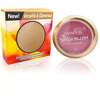 Mars Baked Blush Skin Bright Rubby Free Liner  Rubber Band-MHRR-1