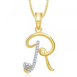 Meenaz heart r alphabet pendant for girls women with chain meenaz heart r alphabet pendant for girls women with chain valentine gifts ps323 mozeypictures Images