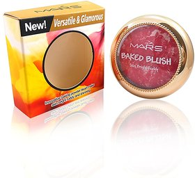 Mars Baked Blush Skin Bright Rubby Free Liner  Rubber Band-MHRR-2