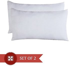 Geo Nature Soft Touch White 2 Pillow (PIL062)