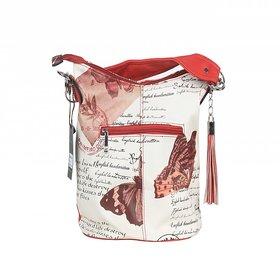 sanmati red  bag