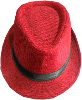 Kapil Garments Formal Wear Jute Men Red Cap 2a690b2e339