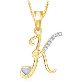 Meenaz heart k alphabet pendant for girls women with chain valentine gifts ps332 meenaz heart k alphabet pendant for girls women with chain valentine gifts ps332 aloadofball Image collections