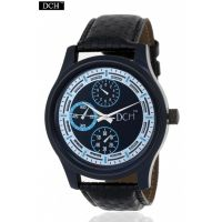 DCH WT 1204 Blue N Black Analog Watch For Men With 1 Year Warranty(WT 1204).
