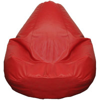 Earthwood  XXL Bean Bag Cover   Red 26 inch x 38 inch