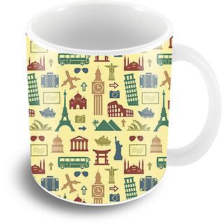 The Crazy Me - Retro Travel Coffee Mug