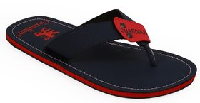 Mens Red,Blue Slippers