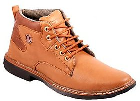 Stylos Mens Tan Long Boots