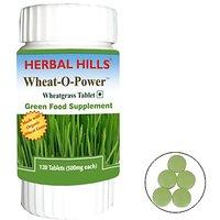 Organic Wheatgrass - 120 Tablets (Buy 1 Get 1)
